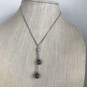 Jewelry - Freshwater Black Pearl Necklace